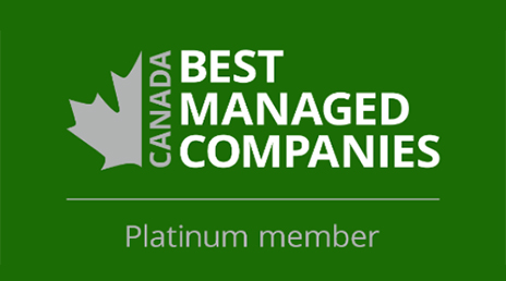 Canada's Best Managed Companies - Platinum Member